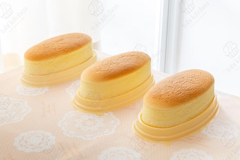 Cốt bánh cực kỳ mềm mịn hòa quyện với mùi thơm của phô mai và sữa