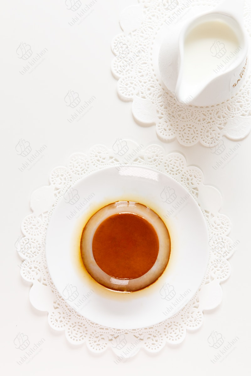 Bánh flan socola