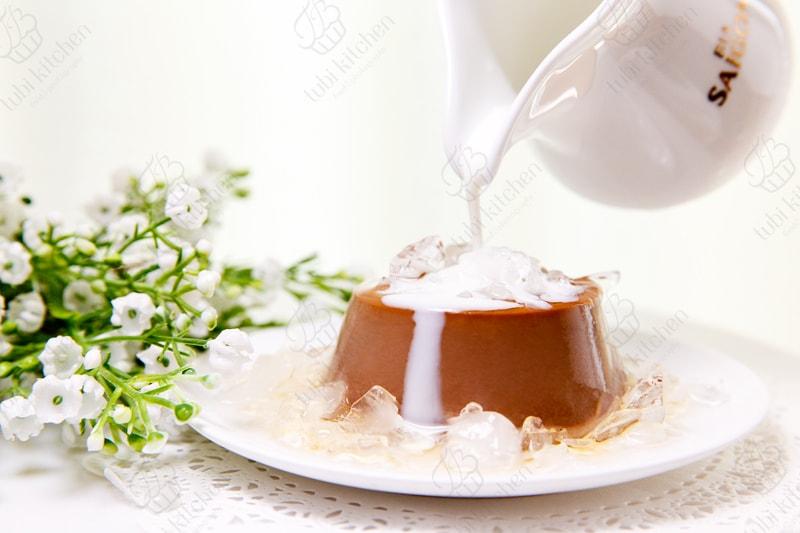 Thêm chút sữa tươi cho hương vị đậm đà hơn