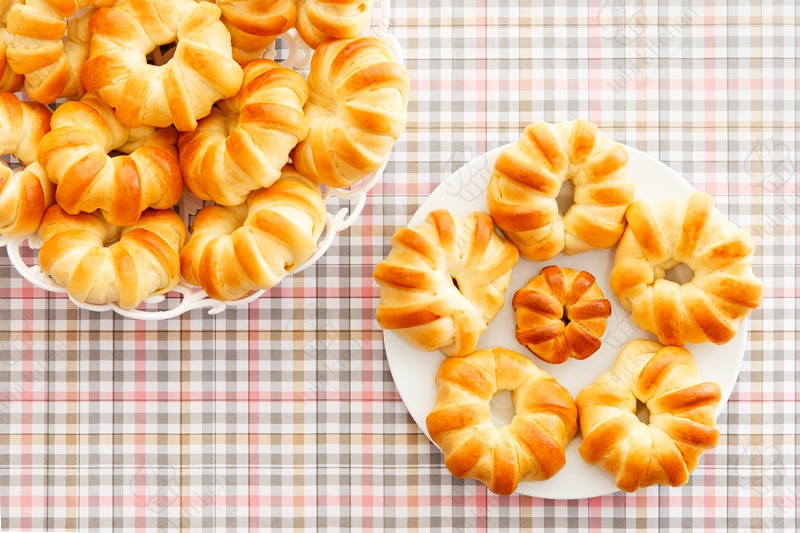 Bánh được tạo hình bắt mắt