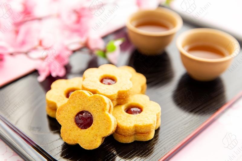 Cookies hoa xuân