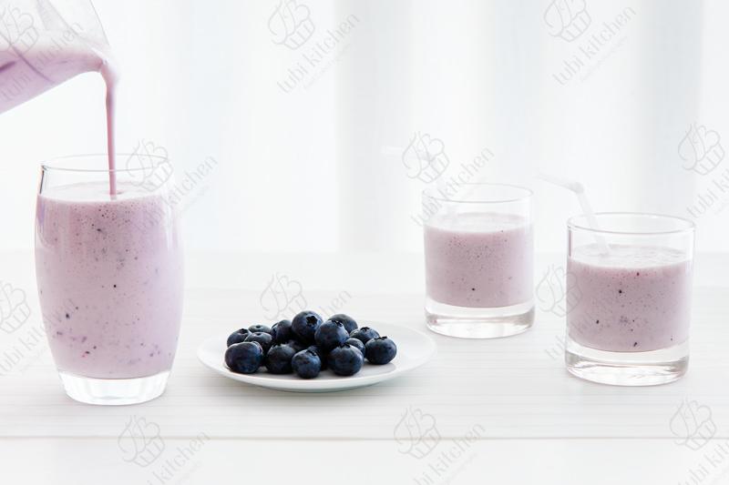 Sữa chua xay việt quất tươi siêu thơm ngon và bổ dưỡng