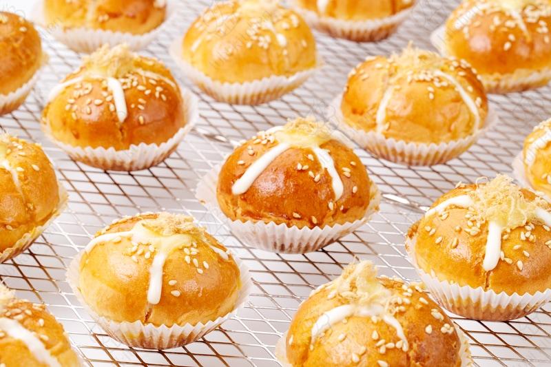 Những chiếc bánh được tạo hình nhỏ nhắn, xinh xắn