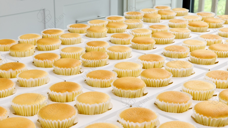 TBK-004 Lớp online chuyên đề Bông lan phô mai Nhật Bản (Japanese Cotton Cheesecake - JCC)