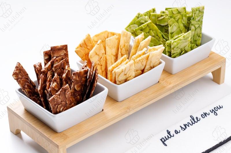 TBK-000 Học làm bánh online miễn phí cùng TuBi Kitchen - Bánh hạnh nhân lát